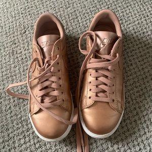 Nike shoes - rose gold